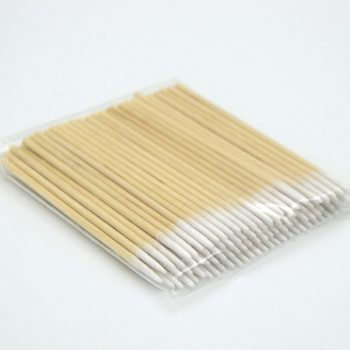 Disposable Wood Stick Buds Tip