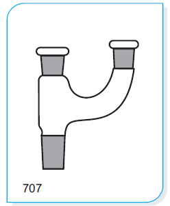 2-Neck Adapters with two parallel necks,