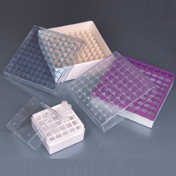 Cryovial Storage Boxes for 1ml and 2ml Tubes, Polycarbonate