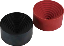 Rubber base for round bottom flasks